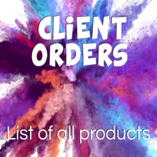 Quick Order - Clients